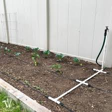 how to install a drip watering system for the garden