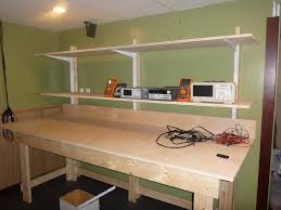 bench with shelf. DIY LAB Bench With Shelves Pt1 The Shelf