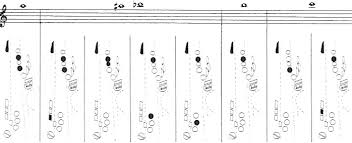 Tenor Sax Finger Chart Printable The Complete Saxophone Fingering Chart
