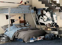 really cool bedrooms for boys. Brilliant For Interesting Boy Really Cool Bedroom Decoration Using Blue And Grey Zigzag  Bed Sheet Including Metal Silver Bunk Navy Carpet  Throughout Bedrooms For Boys