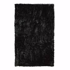 home decorators collection faux sheepskin black 10 ft x 13 ft area rug