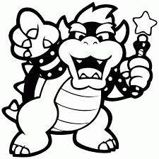 Bowser Jr Coloring Page Free Coloring Pages On Art Coloring Pages