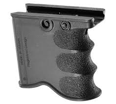 Handgun Magazine Holders Fab Defense MG100 Combined Foregrip and Spare Magazine Holder 80