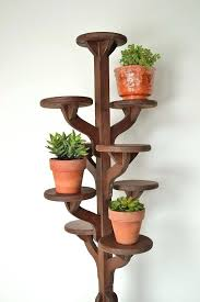 wooden tiered plant stand vintage tall handmade wooden tiered plant stand flower pot stand wood tiered plant stand
