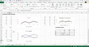 Correlation Excel With Excel Master