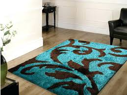 yellow and gray area rug brown turquoise rugs designs round
