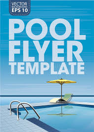 pool service flyers. Pool Flyer Template Vector Illustration Pool Service Flyers P