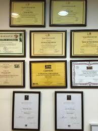 diploma de barista picture of cafe venecia santiago de  cafe venecia distintos diplomas