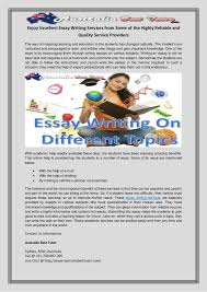 enjoy excellent essay writing services from some of the highly reliab enjoy excellent essay writing services from some of the highly reliable and quality service providers the