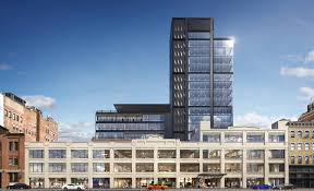 office building designs. The Project Consists Of New Tower And Renovation Two Existing Buildings. ( Office Building Designs D