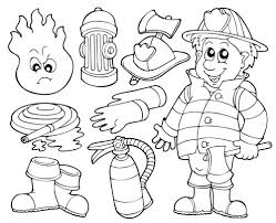 Small Picture Fireman Coloring Pages Free Printable Enjoy Coloring Projects