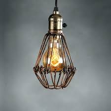 cage light shade cage light bulb cover retro vintage industrial lamp covers pendant trouble light bulb cage light shade