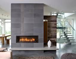Industrial Home - Slate Gray - Reclaimed Wood - Modern Fireplace - Mantel  Ideas - Living