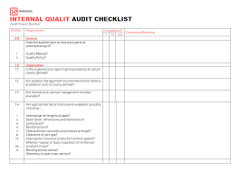 15+ Internal Audit Checklist Templates - Samples, Examples, Formats ...