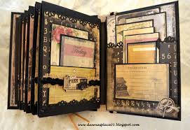 Vintage Photo Albums Romantic Vintage Parisian Inspired Envelope Mini Album