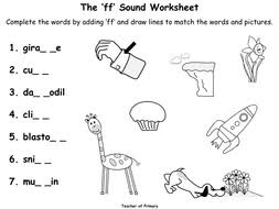 Here, you will find free phonics worksheets to assist in learning phonics rules for reading. The Ff Sound Animated Powerpoint Presentation And Worksheet Teaching Resources
