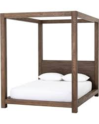 New Deals on Williams Wood Platform Queen Canopy Bed Frame