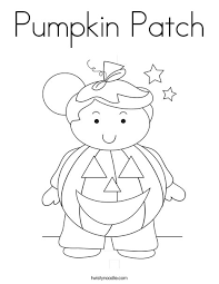 Small Picture Pumpkin Patch Coloring Page Twisty Noodle