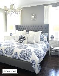 blue and gray bedding in love with our new blue and white bedding and how much blue and gray bedding blue grey duvet cover