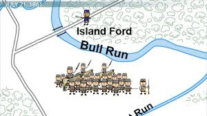 Image result for a small river known as Bull Run.