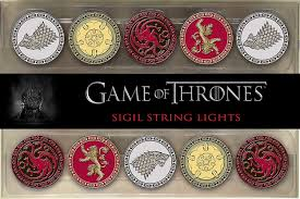 Game Of Thrones String Lights Rabbit Tanaka Game Of Thrones Sigil String Lights