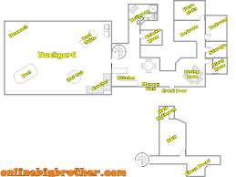 Small Picture Big Brother House Floor Plans