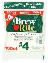 Free shipping for many products! Brew Rite 4 Cone Coffee Filters White Paper 100 Count Bags Pack Of 8 Http Www Teacoffeestore Com Brew Rite 4 Cone C Coffee Filters Coffee Store Coffee