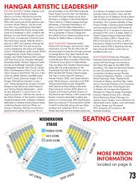 Hangar Theatre Seating Chart Hangar Theatre 2017 Playbill Magazine By Hangar Theatre Issuu