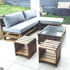 garden table ideas made from pallets best pallet outdoor furniture on patio sectional sofa diy tutorial