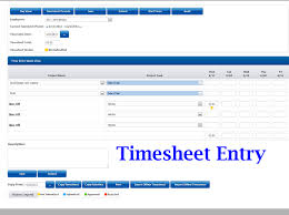 Time Sheet Online Get Free Online Timesheet Time Tracking Project Management