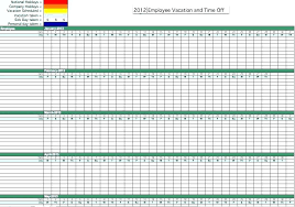 Vacation And Sick Time Tracking Spreadsheet Excel Time Tracking Spreadsheet Time Tracking Spreadsheet Time