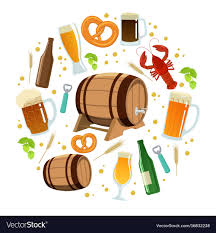 Beer Round Template