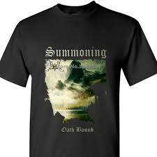 Summoning Chart Summoning Oath Bound T Shirt S 5xl Black Metal Black 100 Cotton Coat Clothes Tops