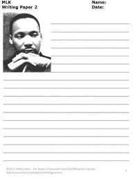 example of martin luther king jr writing paper martin luther king jr research paper essayempire