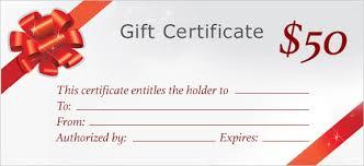 Gift Certificate Printing Print Custom Gift Certificates At