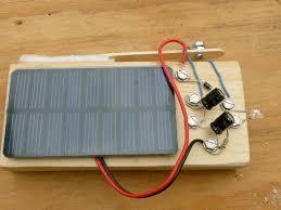 solar powered flashlight no battery make solar powered flashlight no battery