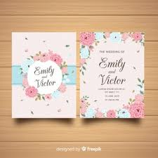Wedding Invitation Card Template Wedding Invitation Vectors Photos And Psd Files Free Download