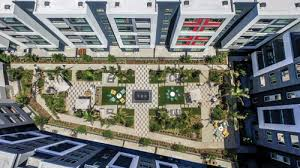 apartment landscape design. Lifescapes International, A Landscape Architecture Firm Based In Newport Beach, Calif., Designed The For Nineteen01, Four-story, 264-unit, Apartment Design