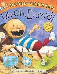 sticker book david shannon 9780545437684 amazon books