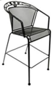 metal mesh patio chairs. Beautiful Mesh AAA Furniture MMC1 Outdoor Restaurant Patio Chair W Mesh Metal Seat U0026 Back With Chairs E