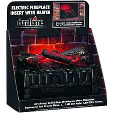 gorgeous design duraflame electric fireplace logs home ideas log insert set depot