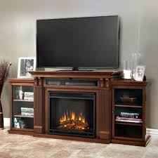 real flame 7720e de calie tv stand w ventless electric fireplace in dark espresso
