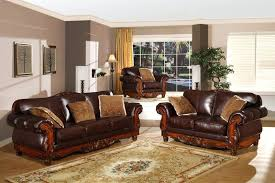 sofa with wood trim for truffle traditional sofa set old world couch wood trim cozy fabric