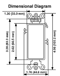 5693 2 Leviton 3 Way Rocker Switch Wiring Diagram dimensional data · wiring diagram leviton 3 way rocker switch wiring diagram