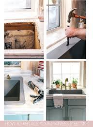 How To Upgrade Your Kitchen Sink Home Decor Kitchen Sink Diy