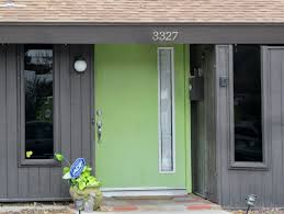 front door knob inside. Cheap Exterior Colour Paint That Can Be Decor With Green Door Add The Beauty Inside Modern House Design Ideas Simple Make It Front Knob G