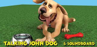 Talking John Dog: <b>Funny Dog</b> - Apps on Google Play