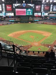 Diamondbacks Virtual Seating Chart Chase Field Interactive Baseball Seating Chart