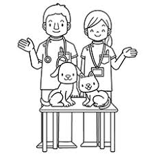 Preschool Community Helpers Coloring Pages 2599501