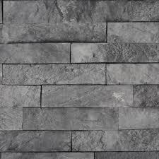 grey brick matt bathroom wall cladding